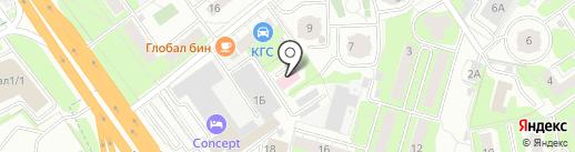 Клинский, ГБУЗ на карте Химок