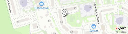 Лобненское Городское Агентство Недвижимости на карте Лобни