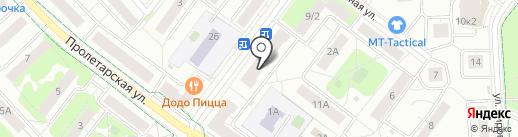 Магазин ткани, пряжи и фурнитуры на карте Химок