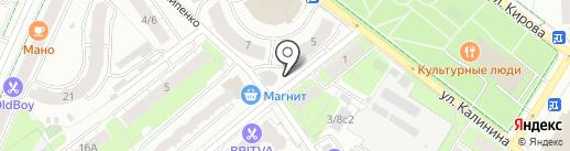 Balkon lounge bar на карте Химок