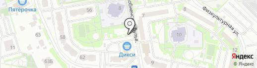 Ruplintus.ru на карте Лобни