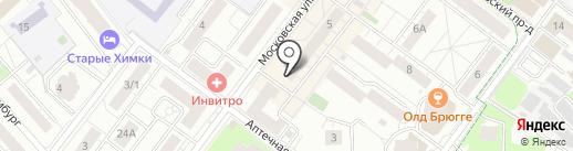 Магазин мясной продукции на карте Химок