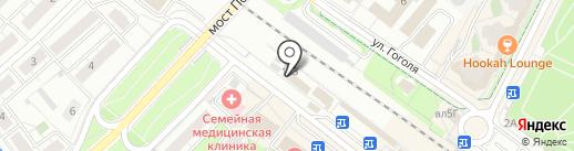 Магазин одежды и обуви на карте Химок