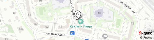 Бульвар на карте Лобни