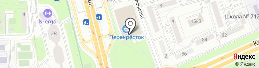 Мастер.On на карте Москвы