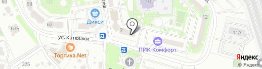 Мортон Телеком на карте Лобни