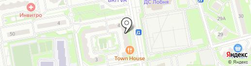 Страховое агентство на карте Лобни