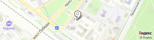Рекламная Сеть Подмосковья на карте Химок
