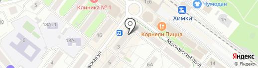 Экоморье на карте Химок