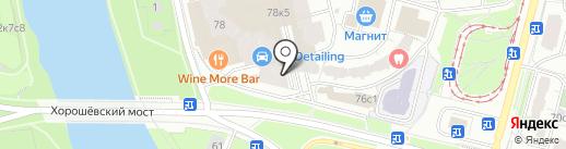 Предтеча на карте Москвы