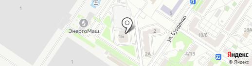 Клюква на карте Химок