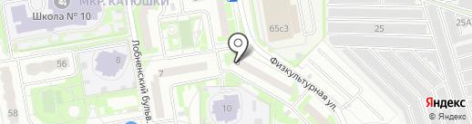 Банкомат, Сбербанк, ПАО на карте Лобни