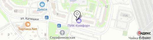 Участковый пункт полиции на карте Лобни