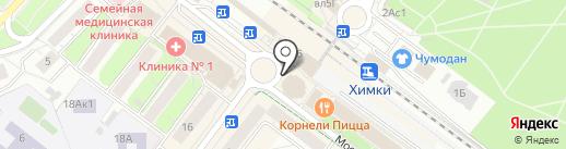 Магазин купальников на карте Химок