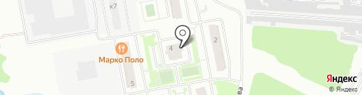 Лобня Сити на карте Лобни
