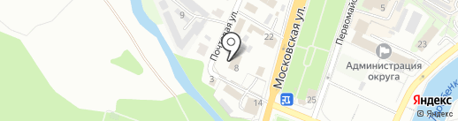 Московская областная коллегия адвокатов на карте Чехова