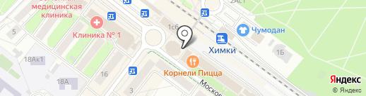 Ювелирная мастерская на карте Химок