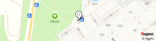 Вега на карте Манушкино