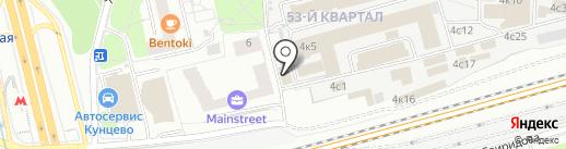 Моссервис24 на карте Москвы