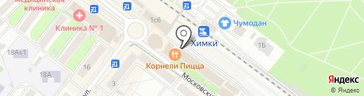 Элика на карте Химок