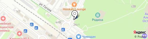 Киоск фастфудной продукции на карте Химок
