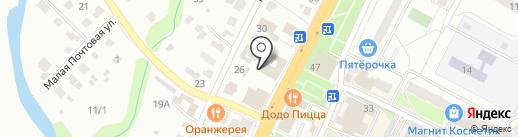 Неболейка на карте Чехова