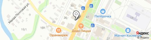 Бюро переводов на карте Чехова