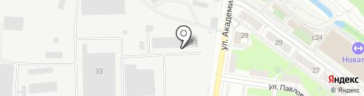 Эксоло на карте Химок