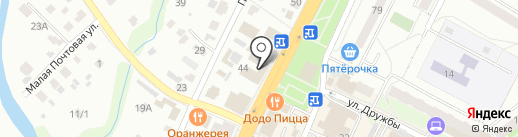 Альянс Тревел на карте Чехова