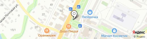 Киоск по продаже кондитерских изделий на карте Чехова