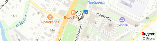 Радуга на карте Чехова