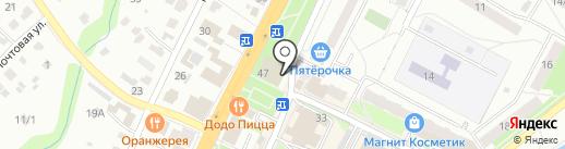 Орион на карте Чехова