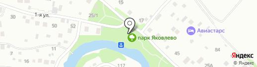 Часовня святого князя Владимира на карте Химок