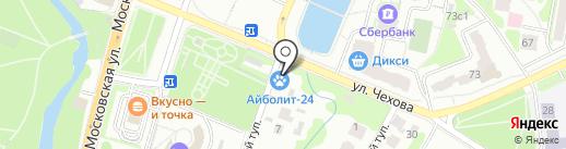 Магазин керамической плитки на карте Чехова