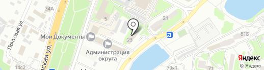 Управление Пенсионного фонда РФ №33 по г. Москве и Московской области на карте Чехова