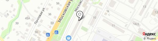 Платежный терминал, МОСКОВСКИЙ КРЕДИТНЫЙ БАНК на карте Чехова