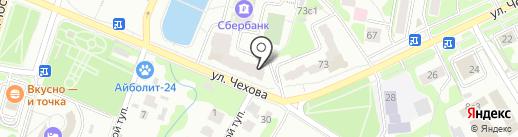 Мемфис на карте Чехова
