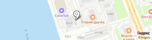 РемСервис на карте Москвы