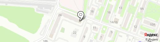 Букино на карте Лобни