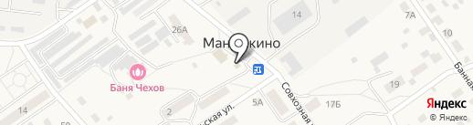 Берёзка на карте Манушкино