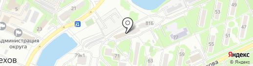 Московский Индустриальный Банк на карте Чехова