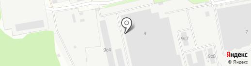 Лобненский таможенный пост на карте Лобни