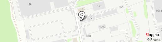 Сытый папа на карте Лобни