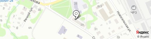 Kassir.ru на карте Чехова