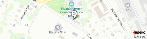 Участковый пункт полиции на карте Чехова