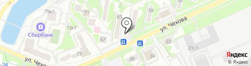 Александра на карте Чехова