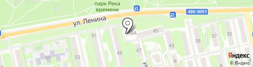Дом оптики на карте Лобни