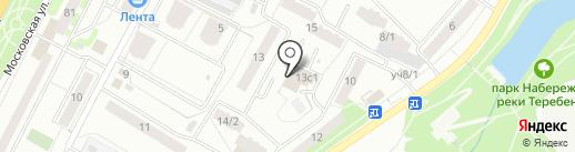 Муниципальная баня на карте Чехова