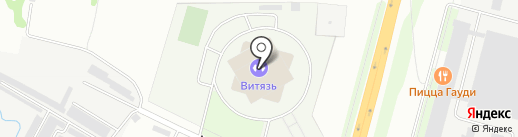 Витязь на карте Чехова