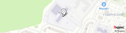 Средняя общеобразовательная школа №10 на карте Чехова